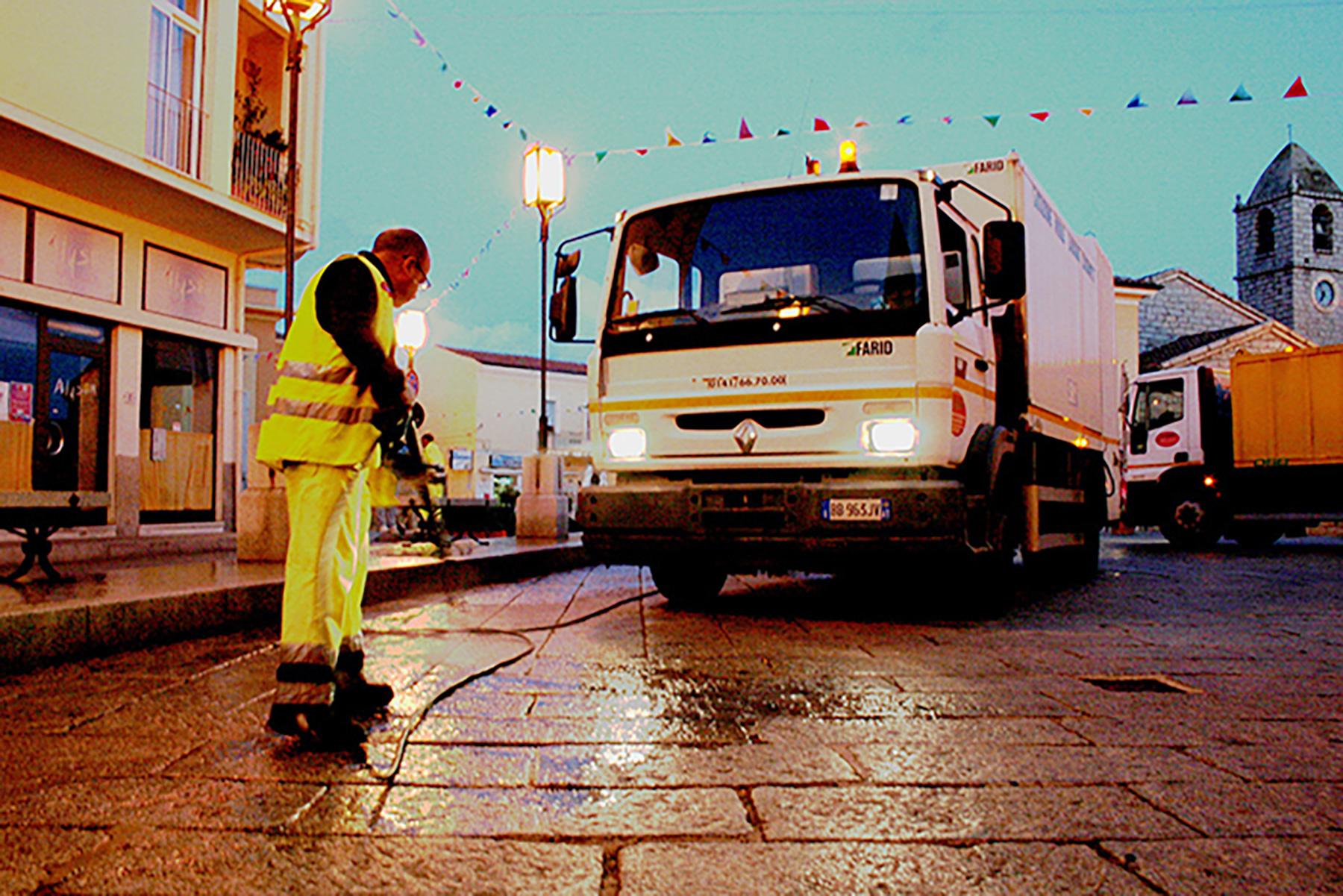 Servizio pulizia strade   Cosir